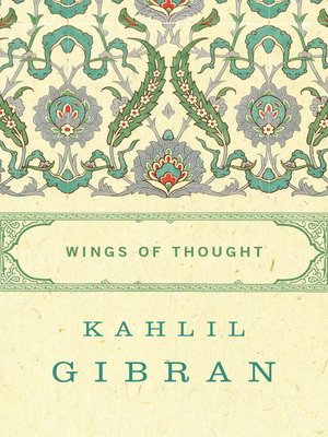 cover image of Wings of Thought