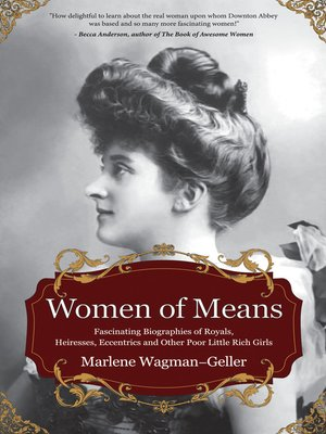 cover image of Women of Means