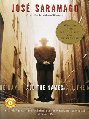 cover image of All the Names