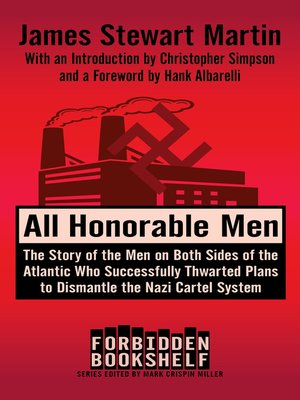cover image of All Honorable Men