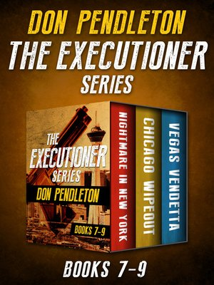 cover image of The Executioner Series Books 7–9