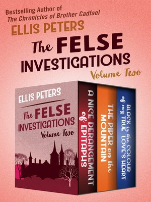 cover image of The Felse Investigations Volume Two
