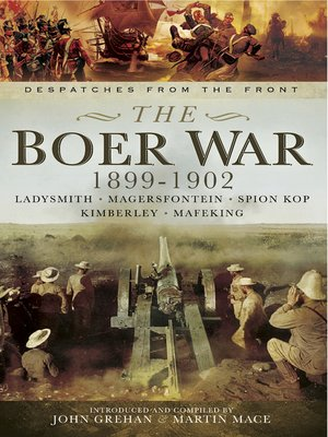 cover image of The Boer War, 1899–1902