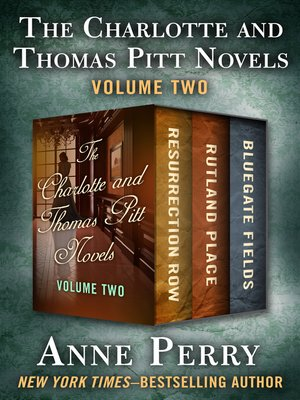 cover image of The Charlotte and Thomas Pitt Novels Volume Two