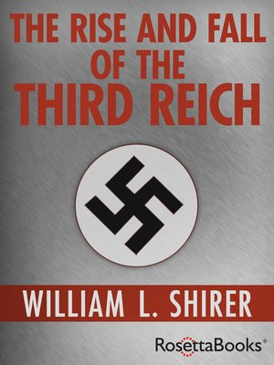 cover image of The Rise and Fall of the Third Reich