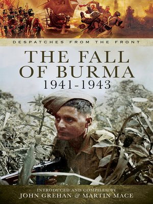 cover image of The Fall of Burma, 1941–1943