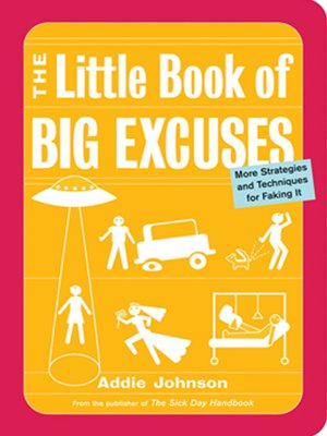 cover image of The Little Book of Big Excuses