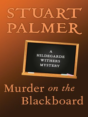 cover image of Murder on the Blackboard