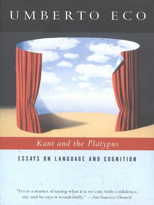 cover image of Kant and the Platypus