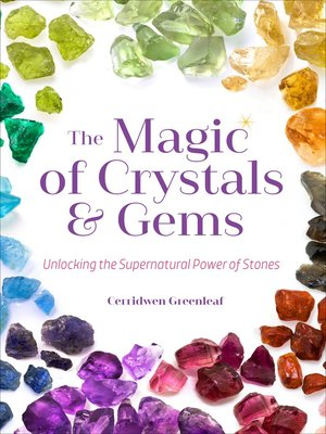 cover image of The Magic of Crystals & Gems