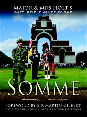 cover image of Major & Mrs Holt's Battlefield Guide to the Somme