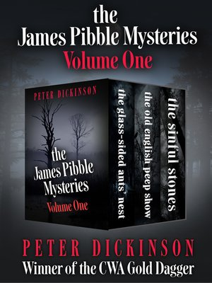 cover image of The James Pibble Mysteries, Volume 1