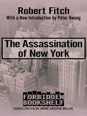 cover image of The Assassination of New York
