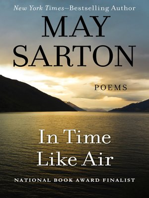cover image of In Time Like Air