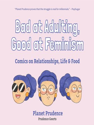 cover image of Bad at Adulting, Good at Feminism