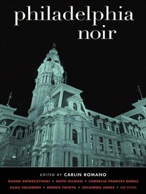 cover image of Philadelphia Noir
