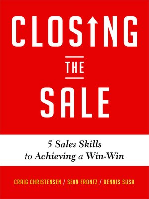 cover image of Closing the Sale