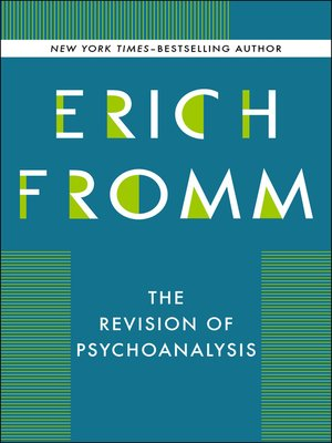 cover image of Revision of Psychoanalysis