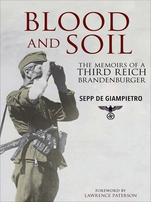 cover image of Blood and Soil
