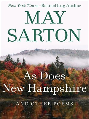 cover image of As Does New Hampshire