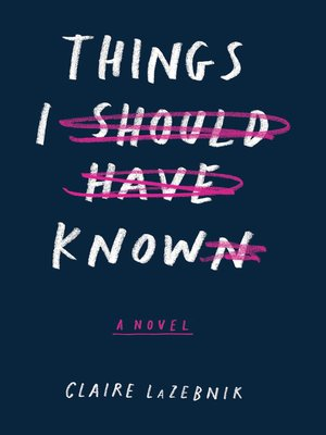 cover image of Things I Should Have Known