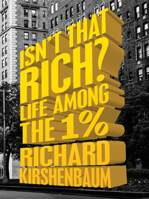 cover image of Isn't That Rich?