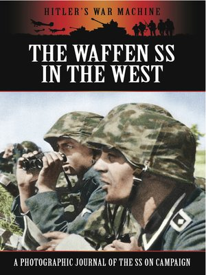 cover image of The Waffen SS in the West