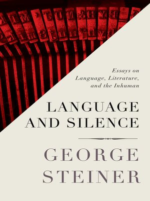 cover image of Language and Silence
