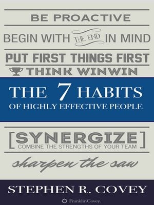 cover image of The 7 Habits of Highly Effective People