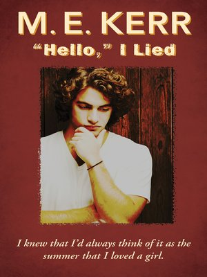 "cover image of ""Hello,"" I Lied"