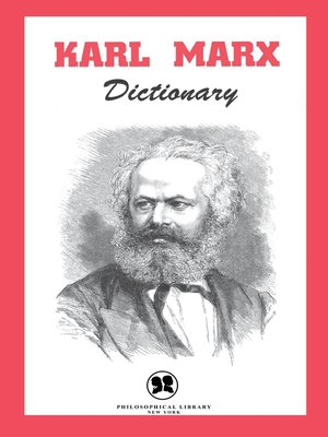 cover image of Karl Marx Dictionary