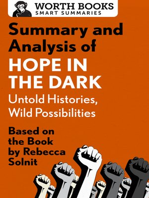 cover image of Summary and Analysis of Hope in the Dark