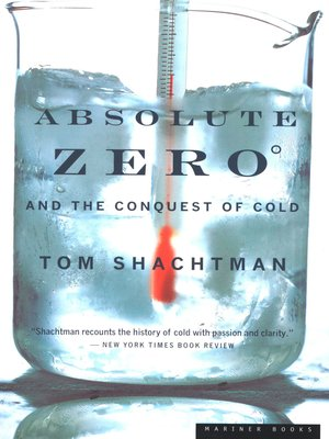 cover image of Absolute Zero and the Conquest of Cold