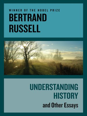 cover image of Understanding History