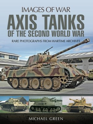 cover image of Axis Tanks of the Second World War