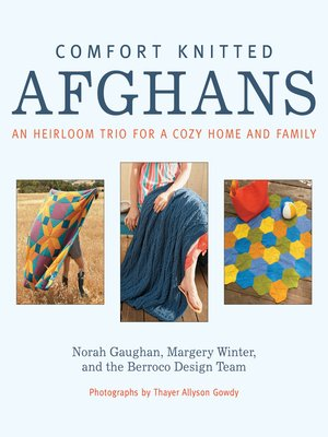 cover image of Comfort Knitted Afghans