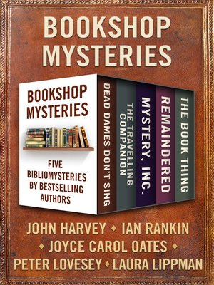 cover image of Bookshop Mysteries
