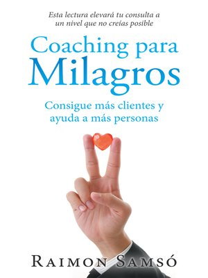 cover image of Coaching Para Milagros