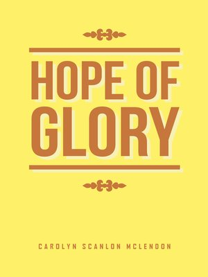 cover image of Hope of Glory
