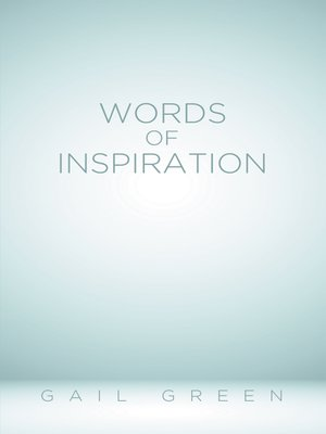 cover image of Words of Inspiration
