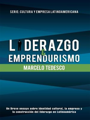 cover image of Liderazgo y Emprendurismo