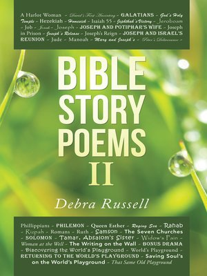 cover image of Bible Story Poems Ii