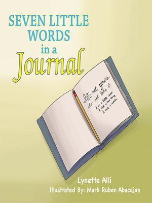 cover image of Seven Little Words in a Journal