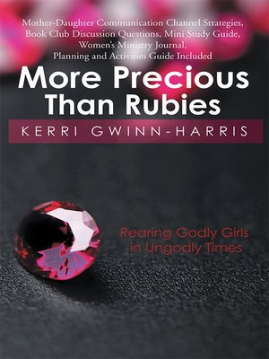 cover image of More Precious Than Rubies