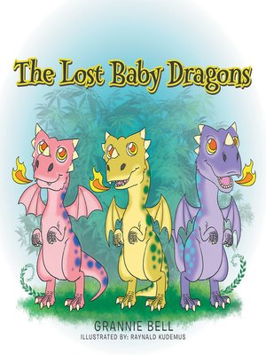 cover image of The Lost Baby Dragons