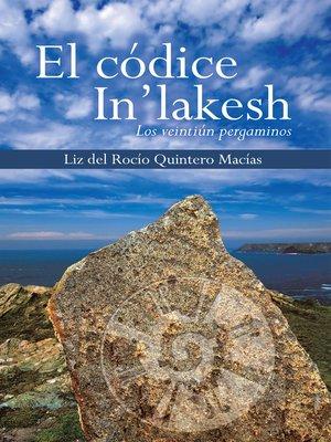 cover image of El códice in'lakesh