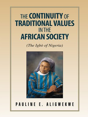 cover image of The Continuity of Traditional Values in the African Society