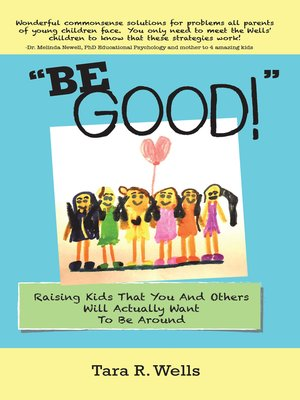 """cover image of """"Be Good!"""""""