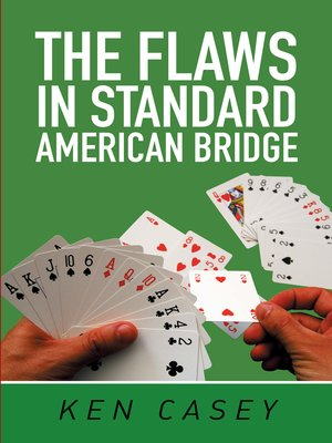 cover image of The Flaws in Standard American Bridge