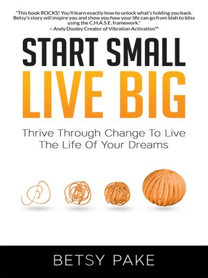 cover image of Start Small Live Big